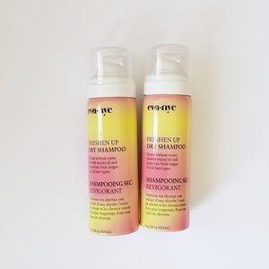 [two bottles] dry shampoo EVA NYC